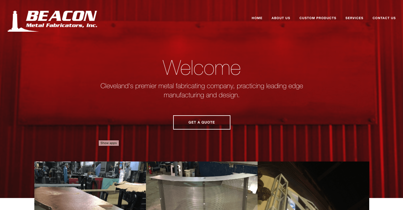 InUnison Integrated Systems | Cleveland Web Development | beacon fabricators | Cleveland Area Web Services