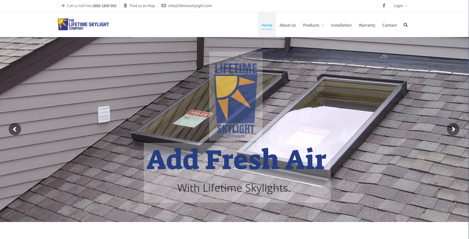 InUnison Integrated Systems | Cleveland Web Development | lifetime skylight | Cleveland Area Web Services