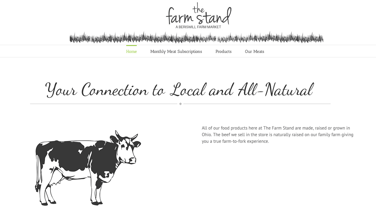 InUnison Integrated Systems | Cleveland Web Development | the farm stand | Cleveland Area Web Services